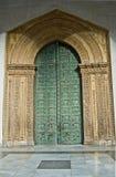 门前monreale西西里岛 免版税图库摄影
