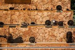 水门博物馆在Herastrau公园-细节 免版税库存图片