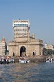 门印度mumbai 免版税库存照片
