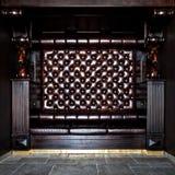门厅皮革豪华沙发构造了 免版税库存图片