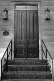门台阶 库存照片