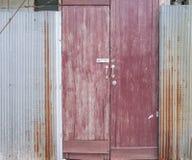 门和篱芭 库存照片