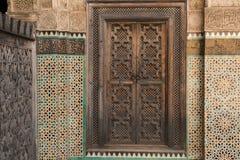 门和装饰 库存图片