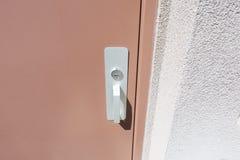 门和锁 库存照片