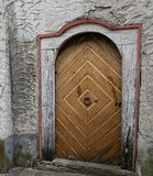 门在一个教会里在恩金在德国 库存图片