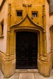 门在利昂 库存照片