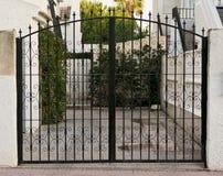 门在西班牙 免版税库存照片