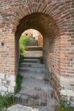 门在贝尔格莱德堡垒 库存图片