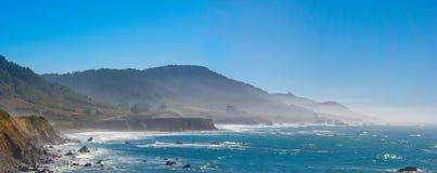 门多西诺陆岬加利福尼亚北部 库存照片