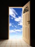 门天空 库存照片