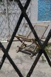 门安置建筑学抽象墨西哥城梅里达 图库摄影