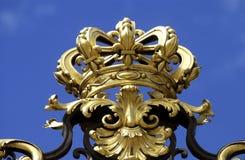 门宫殿凡尔赛 库存照片