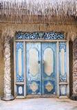 门寺庙 库存图片