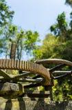 水门嵌齿轮轮子  库存照片