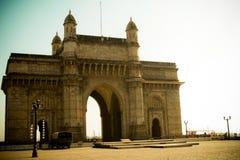 门户向印度,孟买,印度 免版税库存图片