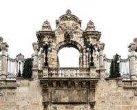 门户向布达城堡 免版税图库摄影