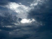 门户天空 库存照片