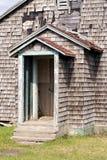 门户开放主义在一个老房子 库存照片