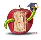 门户开放主义的学校 免版税图库摄影