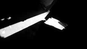 门户开放主义的阴影 免版税库存图片