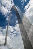 门户曲拱在圣路易密苏里 免版税图库摄影