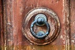 门敲门人 免版税图库摄影