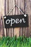 门是开放的 免版税库存图片