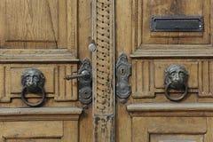 门木头 免版税库存照片