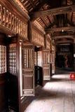 门框寺庙 库存图片