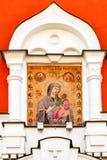 门正统象在Iversky修道院里 库存照片