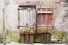 门法国老木 免版税图库摄影
