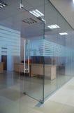 门玻璃 免版税库存照片