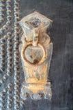 门的头在qiao系列化合物的门的山西的, 库存照片