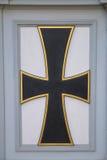 门的异常的零件以十字架的形式 免版税库存图片