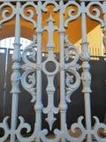 门的装饰的片段 免版税库存图片