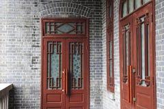 门的teyuan 免版税图库摄影