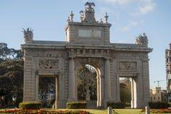 门纪念碑 库存图片