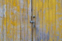 门纹理 库存照片