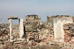 门罗马废墟 免版税库存图片
