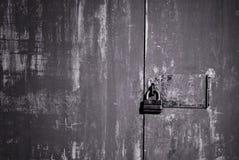 门老铁锁定 库存图片