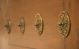 门装饰品 免版税图库摄影