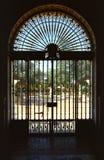 门装饰物 免版税库存照片