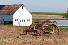 门诺派中的严紧派的农厂谷仓和设备001 免版税图库摄影