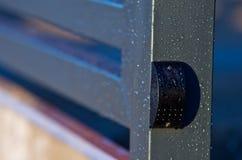 门运动传感器探测器 库存图片