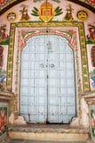门道入口印地安人 免版税图库摄影