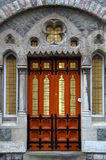 门道入口哥特式样式威尔士 库存照片