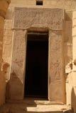 门道入口埃及系列 免版税库存照片