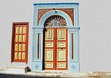 门道入口-突尼斯,非洲 库存照片