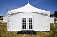 门野外镜帐篷 库存图片