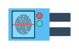 门锁例证 免版税库存图片